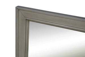 Napa 28-inch Wall Mirror (Weathered Gray)