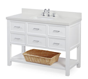New Hampshire 48-inch Vanity (Quartz)