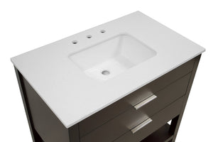 Harbor 36-inch Vanity with Quartz Top