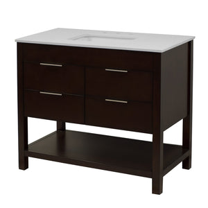 Harbor 42-inch Vanity with Quartz Top