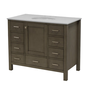 Horizon 42-inch Vanity with Quartz Top