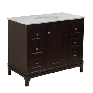 Starboard 42-inch Vanity with Quartz Top