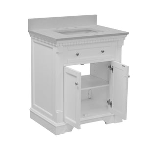 Sydney 30-inch Vanity with Quartz Top