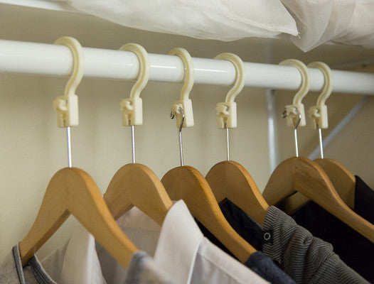convert a hanger in closet anti theft hanger adapter