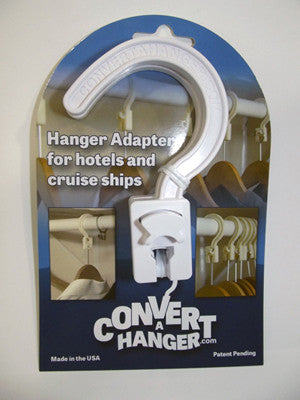 Convert A Hanger used to put clothes on back of door using hotel anti theft hanger