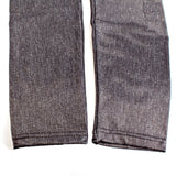 Slim Fit Denim Leggings - Sort el. Blå - SelvsiddendeBHer.dk - 6