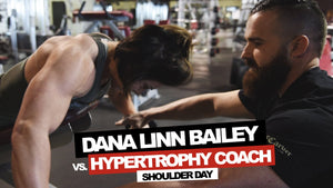DLB VS. THE HYPERTROPHY COACH | SHOULDERS