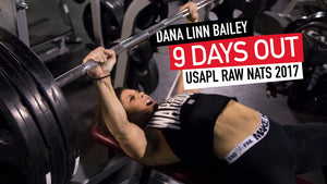 DLB 9 DAYS OUT | USAPL RAW NATS