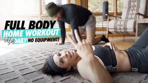 4.15.20 BODYWEIGHT ONLY FULL BODY WORKOUT | #DLBdaily