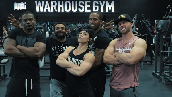 JIM JONES x DLB @ THE WARHOUSE GYM