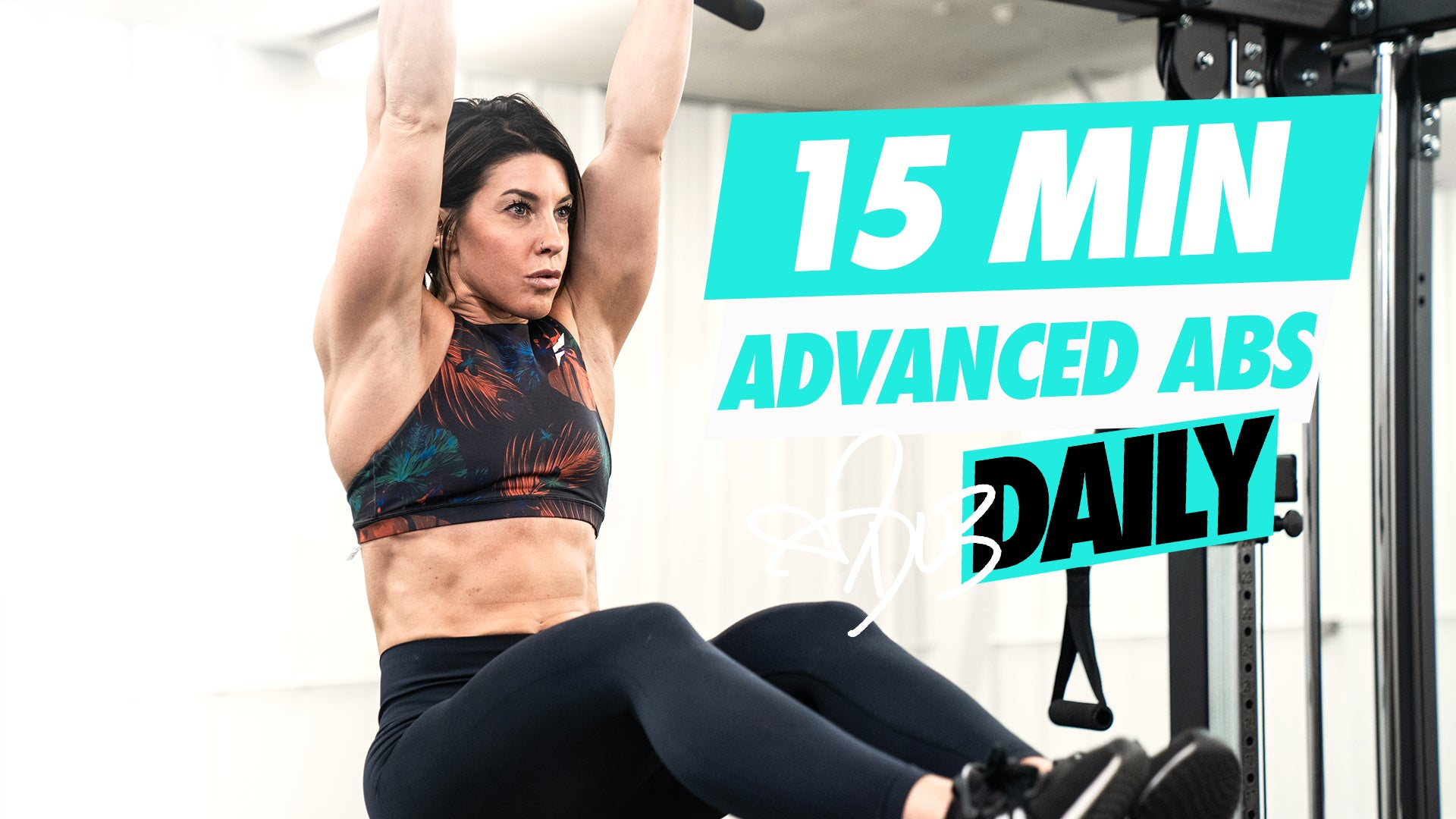 15 MINUTE ADVANCED AB WORKOUT #DLBDAILY