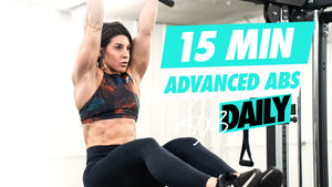 15 MIN ADVANCED ABS | #DLBDAILY