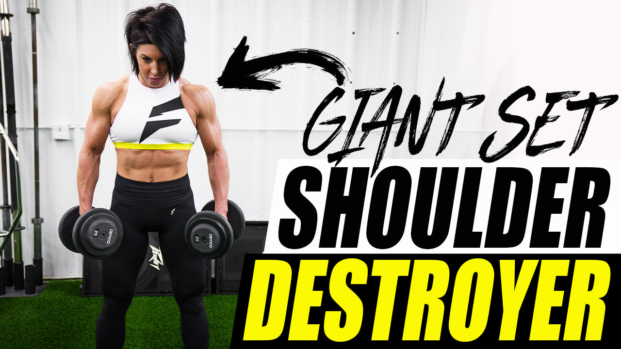 SHOULDER DESTROYER | Giant Sets | #DLBDAILY