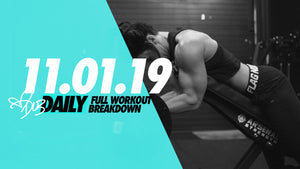 11.01.19 ARMS & ABS | FULL BREAKDOWN #DLBDAILY