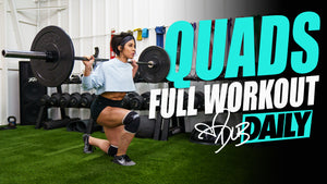 QUAD DESTROYER - Full Workout | #DLBDAILY