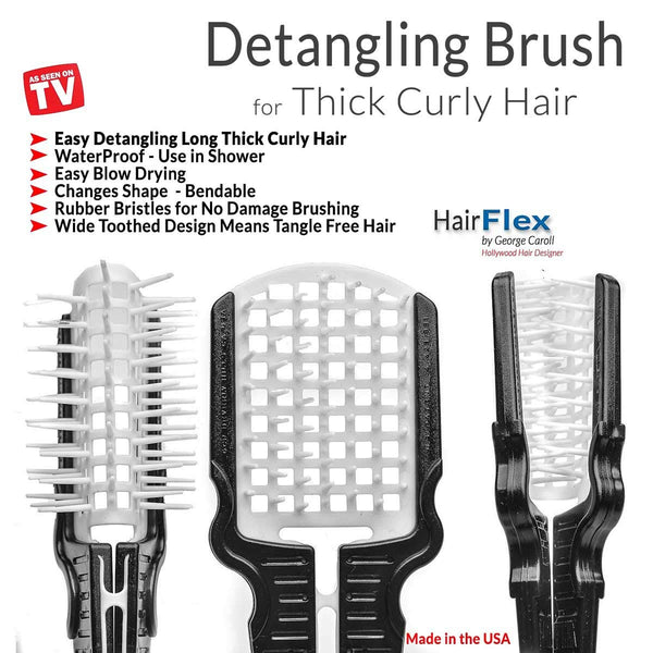 HAIRFLEX ALL-IN-ONE HAIR STYLING BRUSH