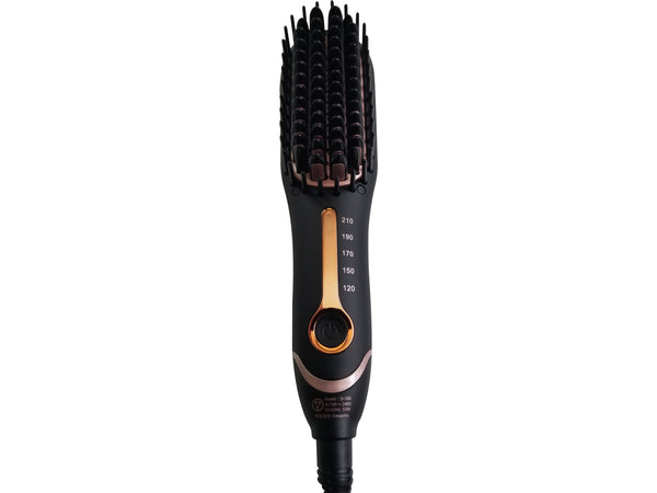 HEAT STRAIGHTENING BRUSH TRAVEL FRIENDLY MADE IN JAPAN - Professional Hair Styling Products & Tools | GMJ Beauty Boutique