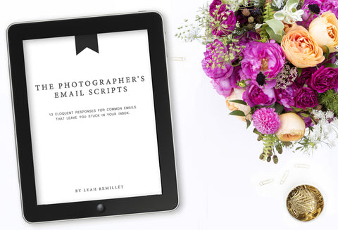 Client Email Correspondence Scripts for Photographers