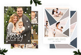 Holiday Card Template Bundle