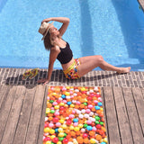 Beach Shorts Girls - Gumballs | SO-NU | Eye Catching Apparel & Home Goods