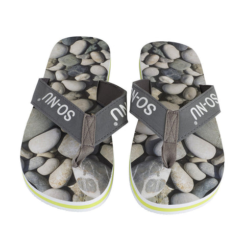 Flip Flops Men- Pebbles | SO-NU | Eye Catching Apparel & Home Goods