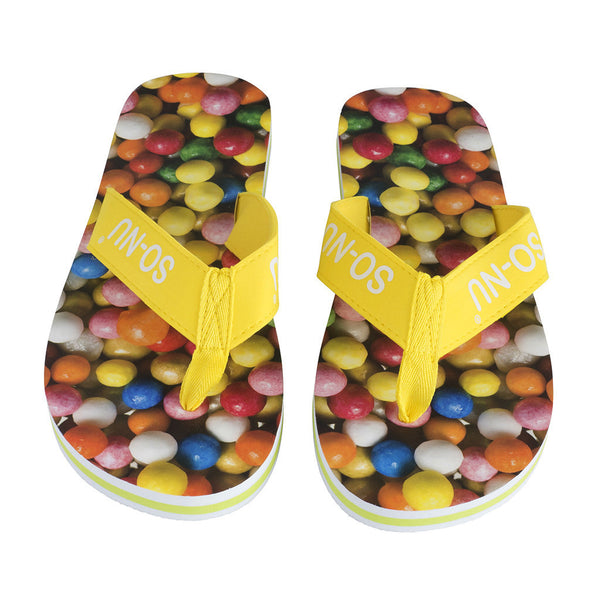 Flip Flops Ladies - Sweets | SO-NU | Eye Catching Apparel & Home Goods