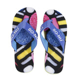 Flip Flops Men - Licorice | SO-NU | Eye Catching Apparel & Home Goods