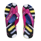 Flip Flops Ladies - Licorice | SO-NU | Eye Catching Apparel & Home Goods