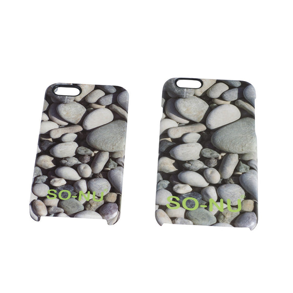 iPhone Cover - Pebbles | SO-NU | Eye Catching Apparel & Home Goods