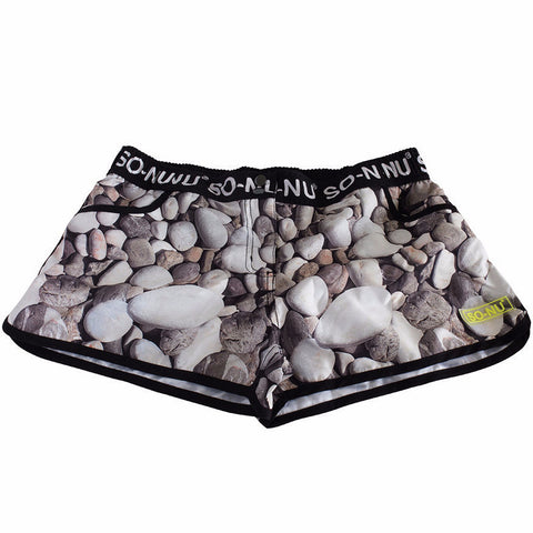 Beach Shorts Girls - Pebbles | SO-NU | Eye Catching Apparel & Home Goods