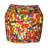 Bean Bag Cube - Sweets Print (Includes Filling & Shipping) | SO-NU | Eye Catching Apparel & Home Goods
