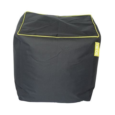 Bean Bag Cube - Grey (Includes Filling & Shipping) | SO-NU | Eye Catching Apparel & Home Goods