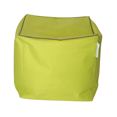 Bean Bag Cube - Green (Includes Filling & Shipping) | SO-NU | Eye Catching Apparel & Home Goods