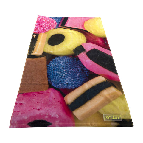 Beach Towel Licorice - SO-NU | SO-NU | Eye Catching Apparel & Home Goods