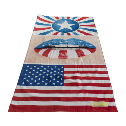 Beach Towel USA - SO-NU | SO-NU | Eye Catching Apparel & Home Goods