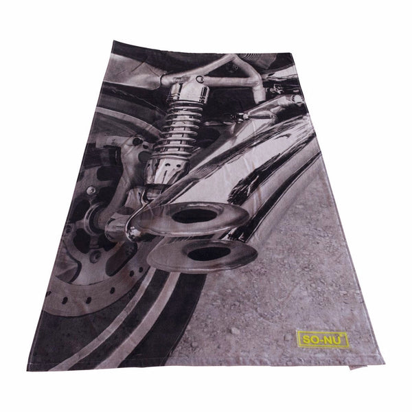 Beach Towel - Exhaust | SO-NU | Eye Catching Apparel & Home Goods