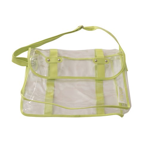 PVC Bag - Green | SO-NU | Eye Catching Apparel & Home Goods