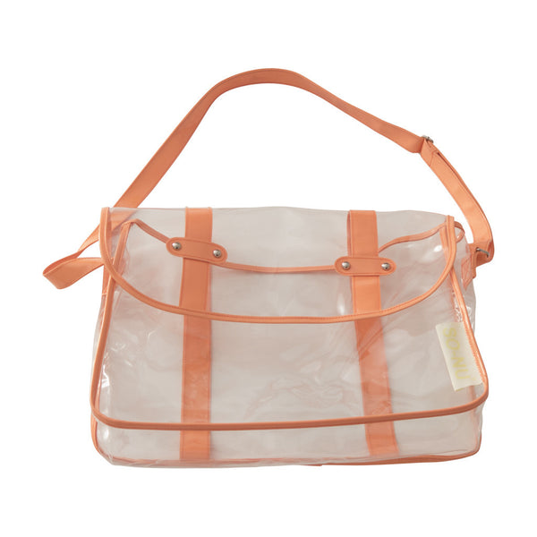 PVC Bag - Orange | SO-NU | Eye Catching Apparel & Home Goods