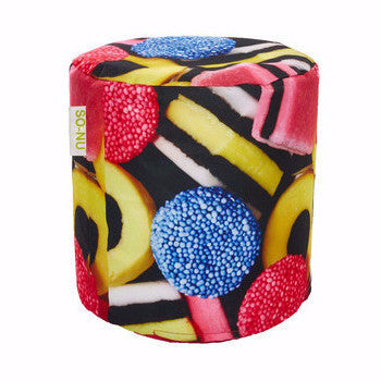 Bean Bag Round Licorice - SO-NU | SO-NU | Eye Catching Apparel & Home Goods
