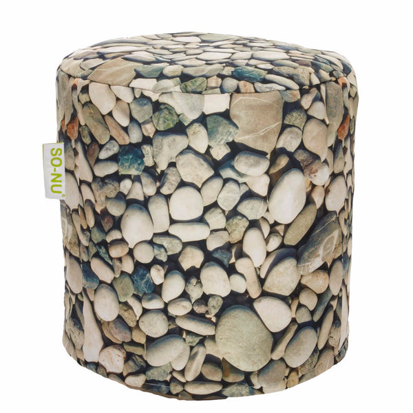 Bean Bag Round Pebbles Print Includes Filling Amp Shipping