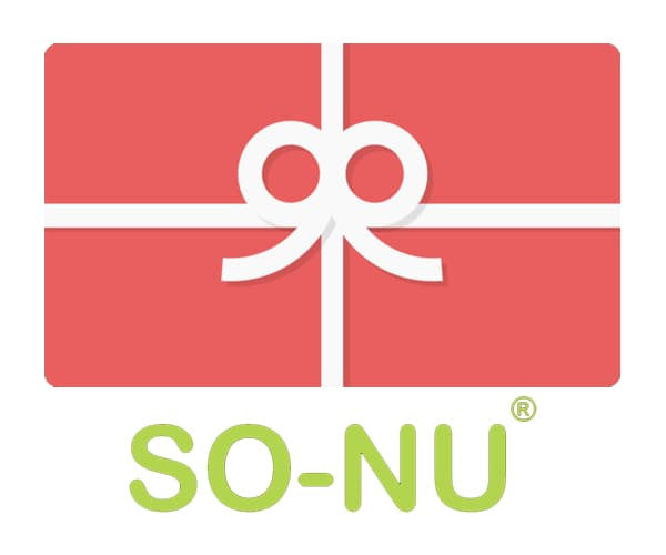 SO-NU Gift Cards | SO-NU | Eye Catching Apparel & Home Goods