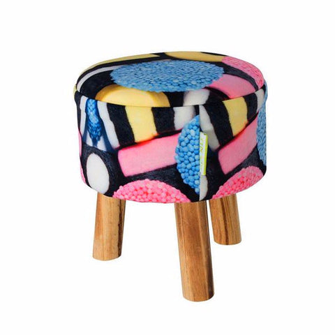 Stool - Licorice | SO-NU | Eye Catching Apparel & Home Goods