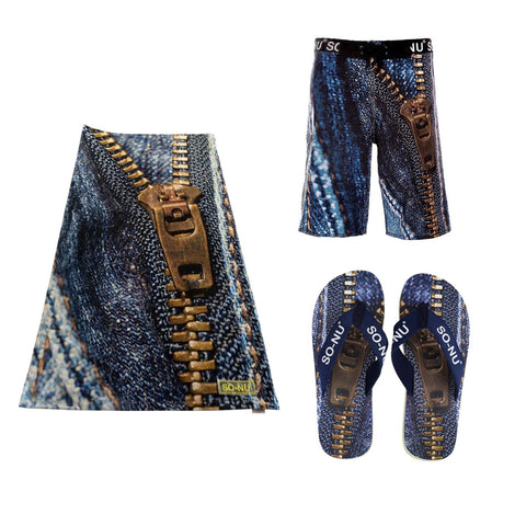 Zipper Men Board Shorts Bundle | SO-NU | Eye Catching Apparel & Home Goods