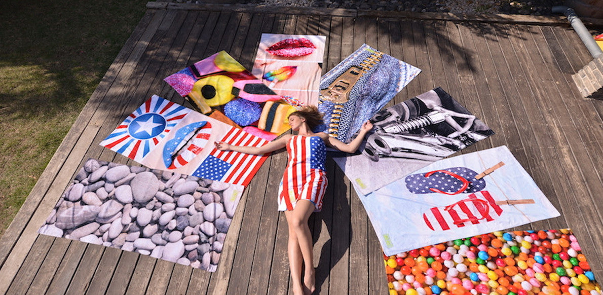 SO-NU Beach Towels