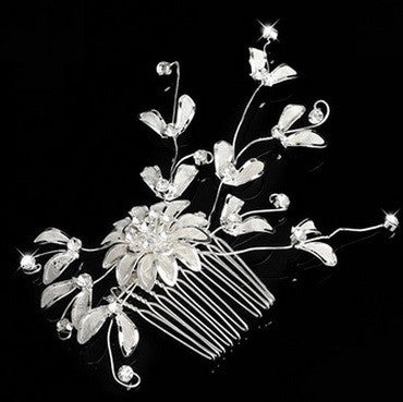 Flower Wedding Comb