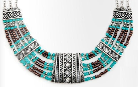 Inspired Turquoise Necklace