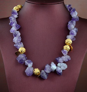 DRAMA!! Simply Irresistible - Amethyst Necklace