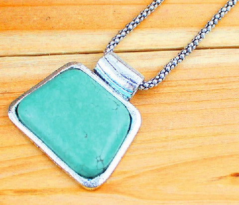 Turquoise Blue Beauty Necklace