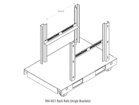 Picture of XG Series Family Rackmount Angle Brackets