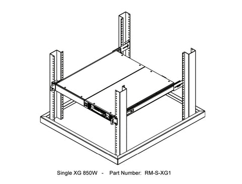 Picture of XG Series Rackmount Kits